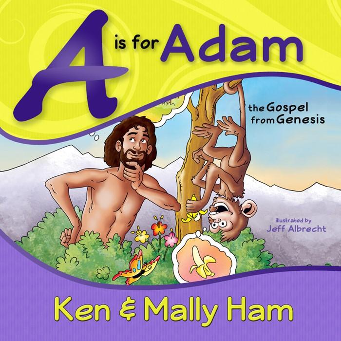 A Is For Adam H/b (Spiral Bound)