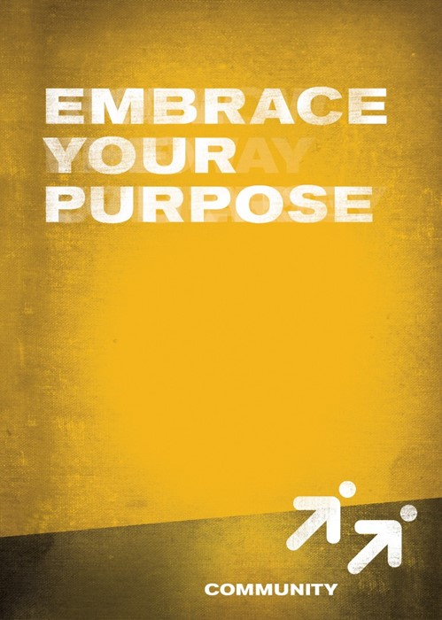 Embrace Your Purpose- Community Book 5 (Paperback)