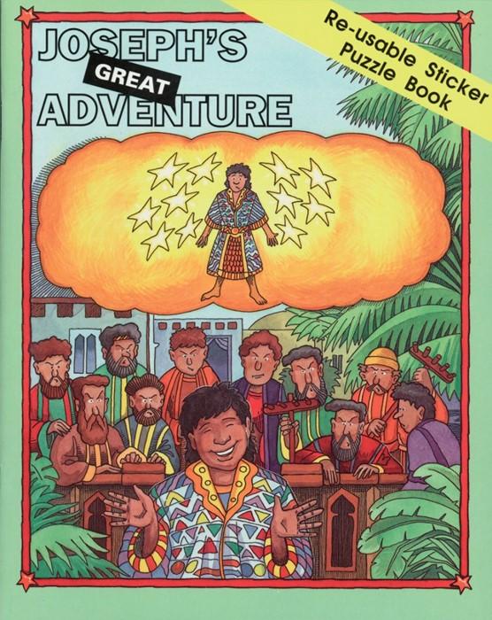 Joseph Sticker Book (Paperback)