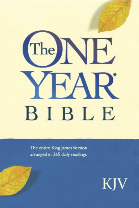 The One Year Bible KJV (Hard Cover)