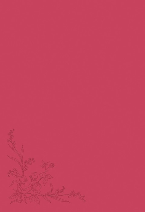 NLT Compact Bible Pink Flowers (Imitation Leather)