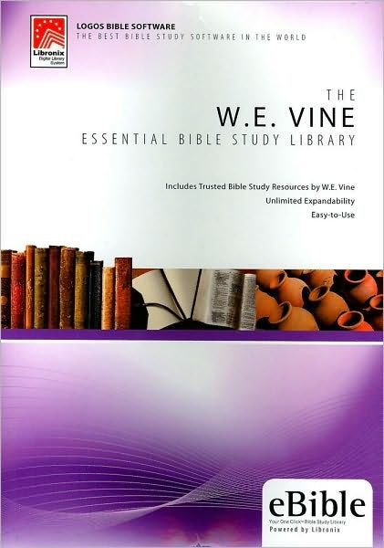 W. E. Vine Essential Bible Study Library (CD-Rom)