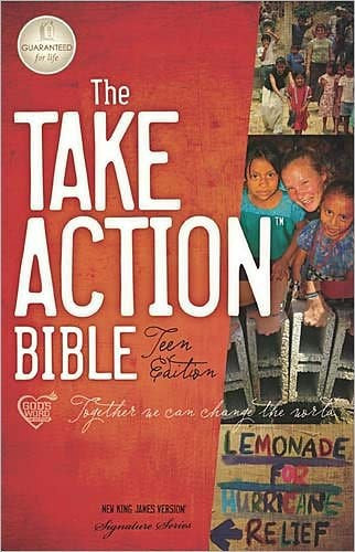 NKJV Take Action Teen Bible (Hard Cover)