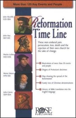 Reformation Time Line (Pamphlet)