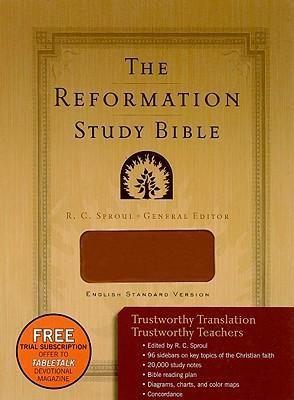 ESV Reformation Study Bible Tan (Imitation Leather)