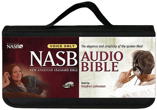 NASB Bible On CD Voice Only (CD-Audio)