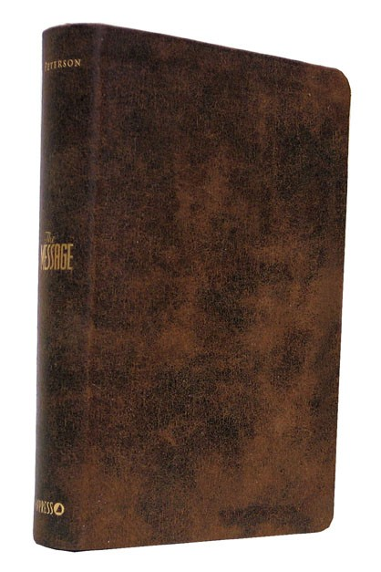 Message Bible Personal Size (Imitation Leather)