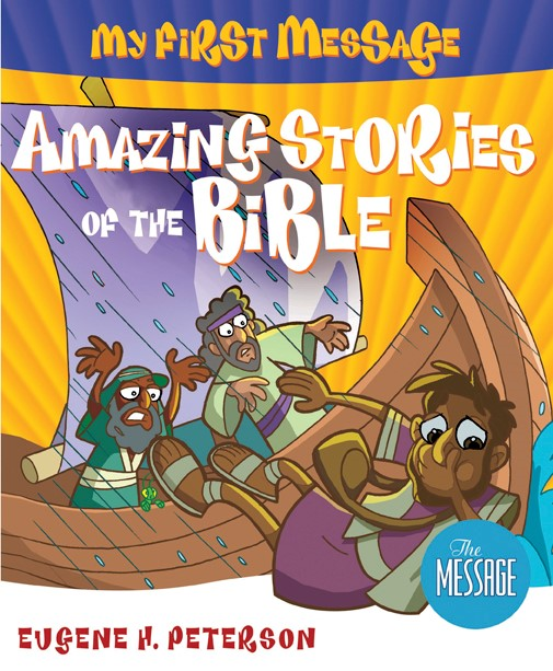 My First Message: Amazing Stories Of The Bible + CD (Paperback/CD Rom)
