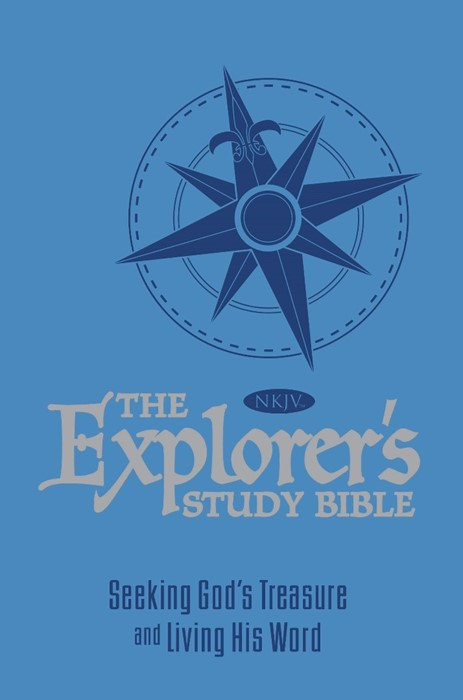 The Explorer's Study Bible - Blue (Paperback)