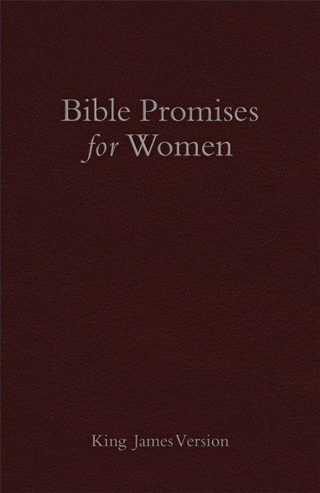 KJV Bible Promises For Women, Cranberry Imitation Leather (Hard Cover)