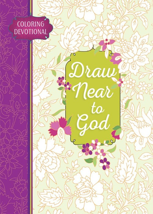 Draw Near To God Colouring Devotional (Paperback)