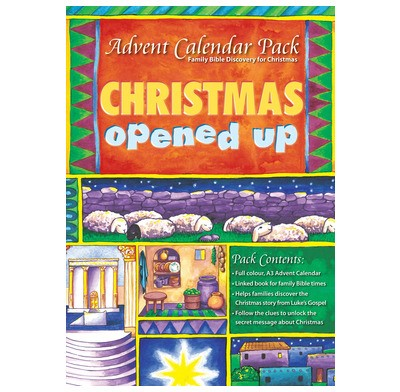 Advent Calendar Christmas Opened (General Merchandise)