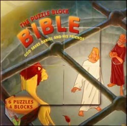 The Puzzle Book Bible: God Saves Daniel & His Friends