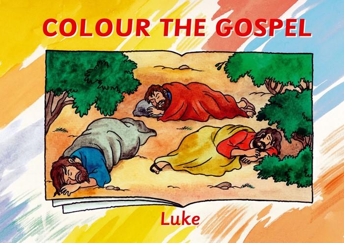 Colour The Gospel - Luke