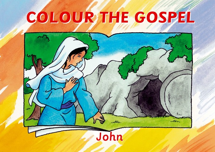 Colour The Gospel - John