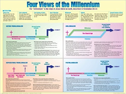 4 Views Of The Millennium  20x26 (Wall Chart)