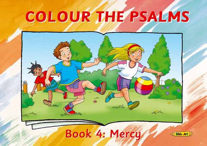 Colour The Psalms Book 4 (Paper Back)
