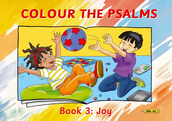 Colour The Psalms Book 3 (Paper Back)