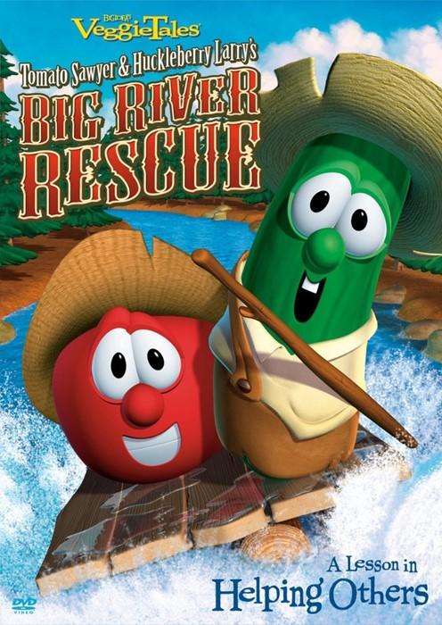 Veggie Tales: Big River Rescue DVD (DVD)