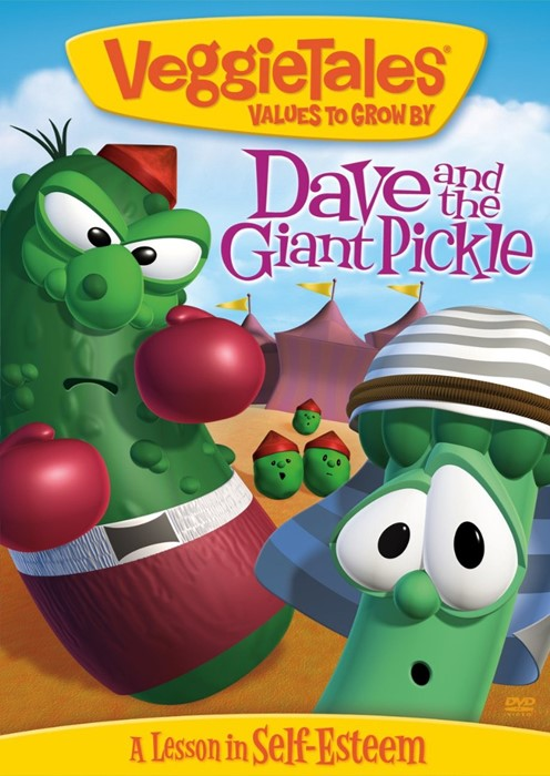 Veggie Tales: Dave & the Giant Pickle DVD (DVD)