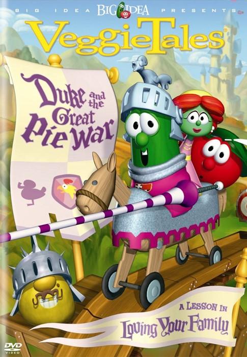 Veggie Tales: Duke & the Great Pie War DVD (DVD)