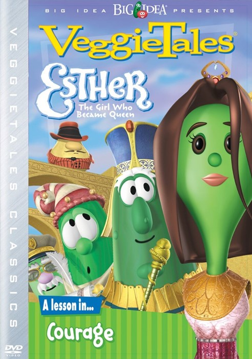 Veggie Tales: Esther The Girl Who Became Queen DVD (DVD)