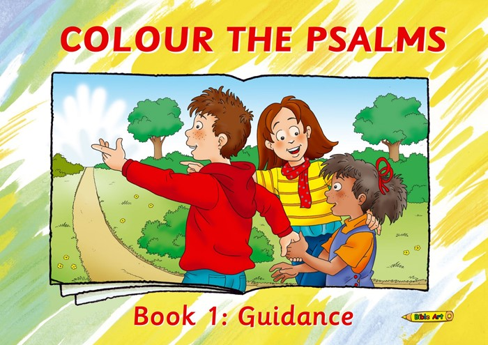 Colour The Psalms Book 1 (Paper Back)