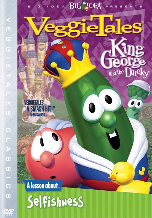 Veggie Tales: King George and the Ducky DVD (DVD)