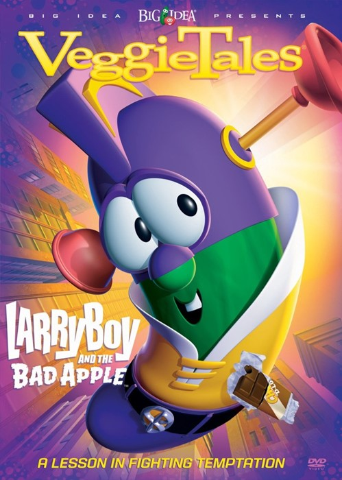 Veggie Tales: Larry-Boy & the Bad Apple DVD (DVD)