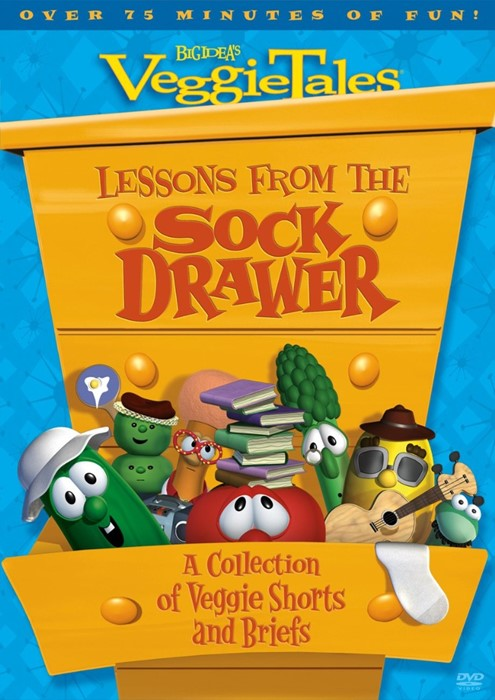 Veggie Tales: Lesson From the Sock Drawer DVD (DVD)