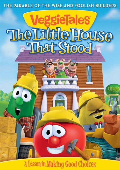 Veggie Tales: Little House That Stood, The DVD (DVD)