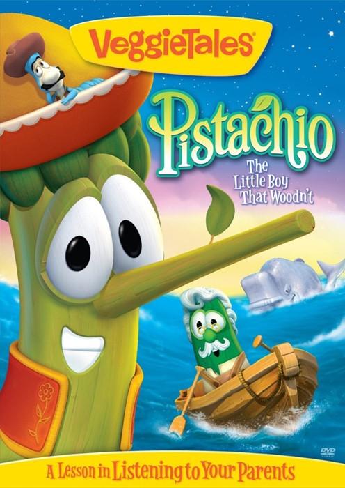 Veggie Tales: Pistachio the Little Boy DVD (DVD)