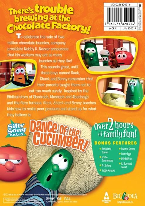 Veggie Tales: Rack, Shack & Benny DVD (DVD)