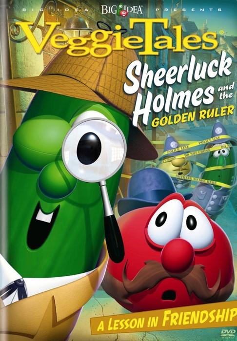 Veggie Tales: Sheerluck Holmes DVD (DVD)