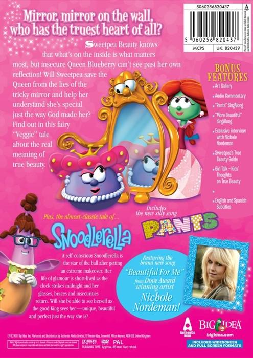 Veggie Tales: Sweetpea Beauty DVD (DVD)