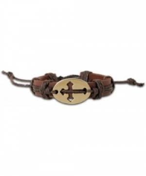 Boho Bracelet: Sideways Cross2