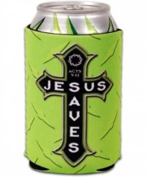 Can Cooler- Jesus Saves