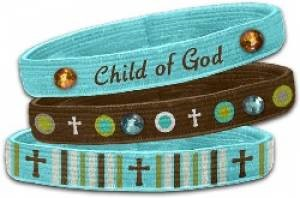 Stretch Bangles: Child of God