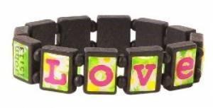 Tile Bracelet: Love