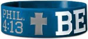 Wide Silicone Wristband: BeStron