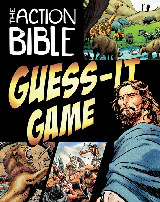 Action Bible Guess it Card Game (Game)