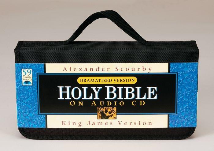 Scourby KJV Bible On CD, Dramatized Version (CD-Audio)