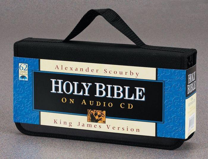 KJV Bible On CD (CD-Audio)