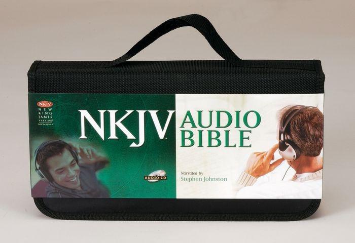 NKJV Bible On CD (CD-Audio)