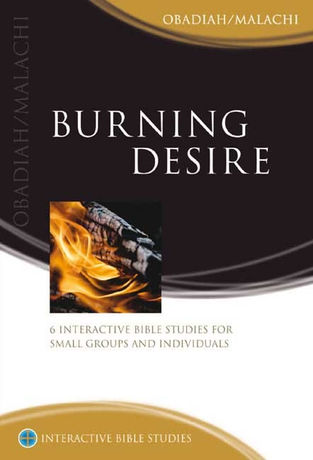 IBS Burning Desire: Obadiah/Malachi (Paperback)