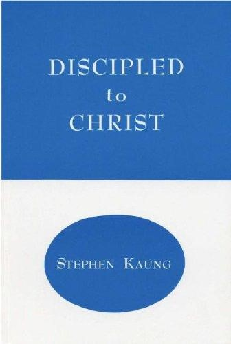 Discipled to Christ (Paperback)