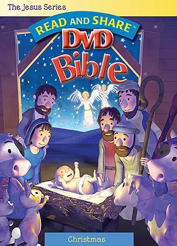 Read and Share Bible - Christmas DVD (DVD)