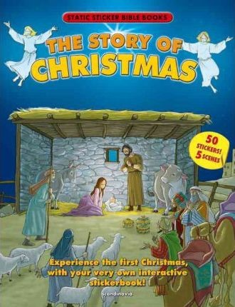 Story Of Christmas - Static Sticker Bible Book (Paperback)