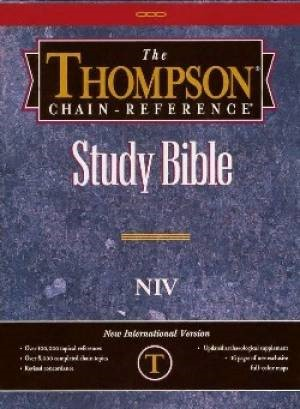NIV Thomson-Chain Reference Bible (Bonded Leather)
