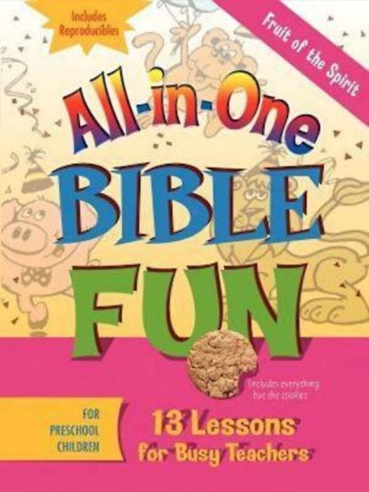 All-In-One Bible Fun For Preschool Children (Paperback)